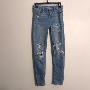 American Eagle Jegging Hi Rise Jeans
